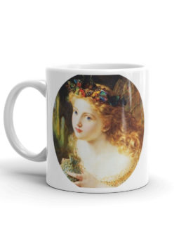 Angel Looking Out Coffee Mug