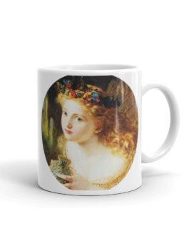 Angel Looking Out Coffee Mug
