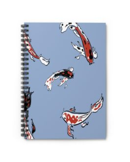 Swimming Sharks Spiral Notebook – Ruled Line