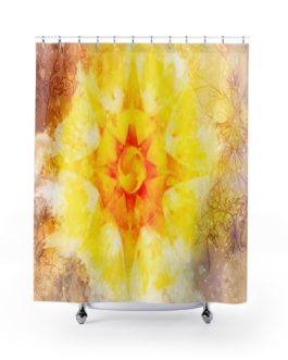Mandala Sun! Shower Curtains