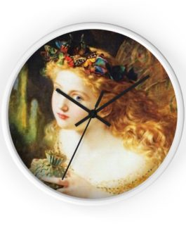 It's Fairy Time Wall Clock