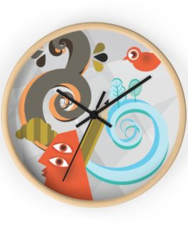 Abstract Art Is Still Art Wall Clock