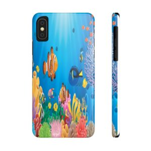 Fishies in the Sea Phone Case on chezgigis.com