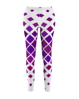 Purple Diamonds Leggings
