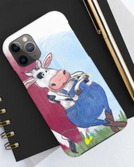 This Cow Is Farmin' Phone Case