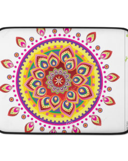 Mandala Golden Magic Laptop Sleeve