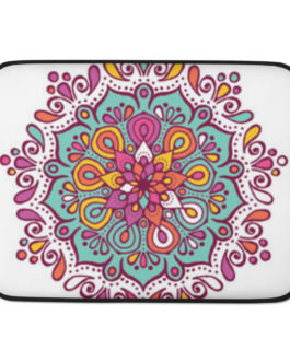 Mandala Magic Laptop Sleeve