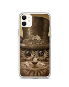 Steampunk Cat Phone Case