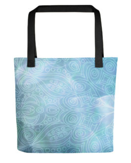 Blue Ocean Tote Bag