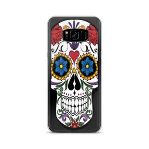 Skulls And Flowers Phone Case on chezgigis.com
