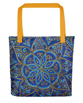 Looks Like You Beaded It Yourself Bounteous Blue Tote Bag