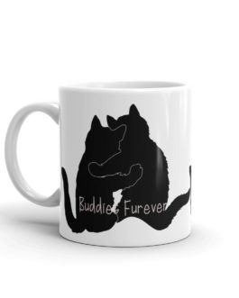 Cats Are Buddies Furever Coffee Mug