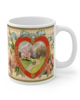 Victorian Heart Coffee Mug