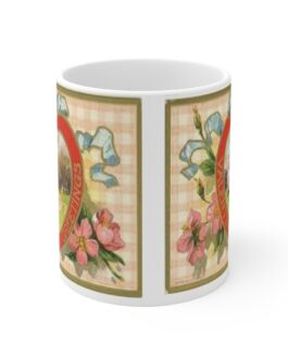 Victorian Heart Coffee Mug