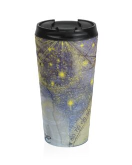 Geography Goes South Travel Mug