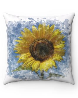 It's Stylish Sunflower Time Sofa Pillow
