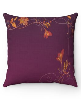 Flower Border Dream Sofa Pillow