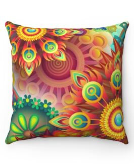 Mandala Psychedelic Sofa Pillow