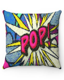 Pop Of Art Sofa Pillow