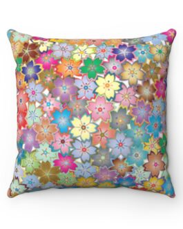 Little Flowers Everywhere Sofa Pillow