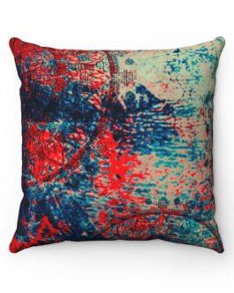 Reds, Blues, and Math Sofa Pillow