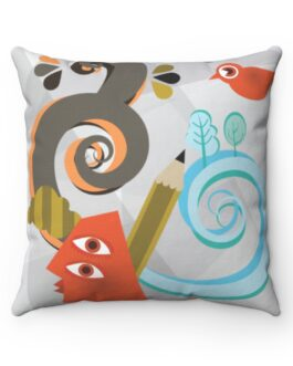Abstract Art Is Still Art Sofa Pillow