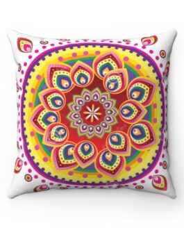 Mandala Golden Magic Sofa Pillow