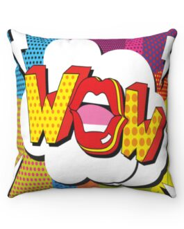 Wow! Pop Art Lips Sofa Pillow