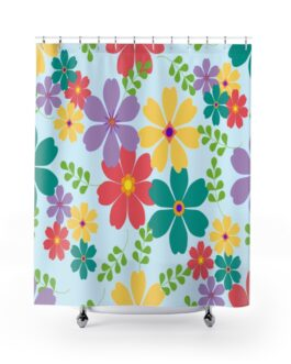 Pretty, Clarice, So Pretty Shower Curtains