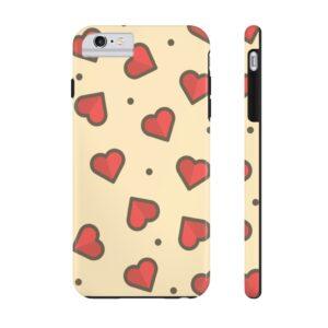 Hearts Afire Phone Case on chezgigis.com