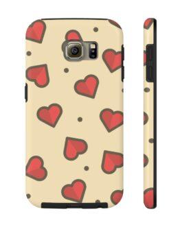 Hearts Afire Phone Case