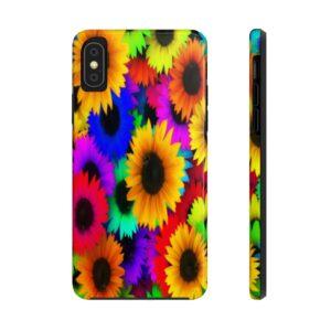 So Many Sunflowers Phone Case on chezgigis.com