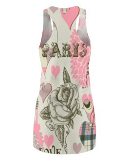 I Love Paris When It Sizzles Racerback Dress