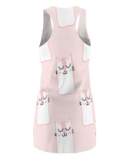Kittens, Kittens, Kittens, Racerback Dress