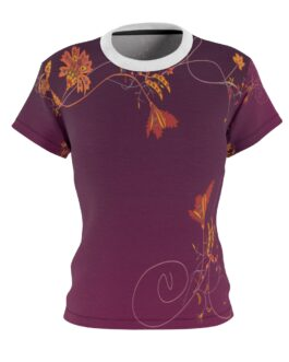 Flower Border Dream Women's Tee