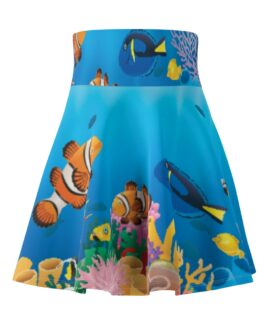 Fishies In The Sea Twirly Skirt