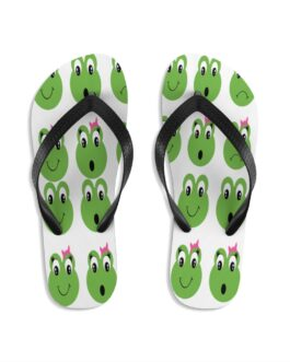 Froggy Do Not Know Flip-Flops
