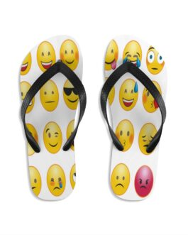 Emojis We Feel It All Flip-Flops
