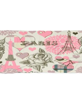 I Love Paris When It Sizzles Beach Towel