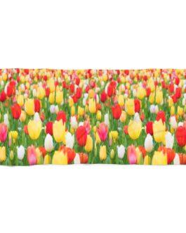 Tulips on Two Lips Beach Towel