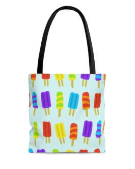 Popsicles Galore Tote Bag