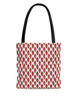 Strawberry Smoothies Tote Bag