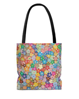 Little Flowers Everywhere Tote Bag