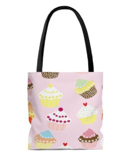 Cupcakes Are My Meat And Potatoes Tote Bag