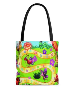 Hippity Hoppity Jump To The Next Number Tote Bag