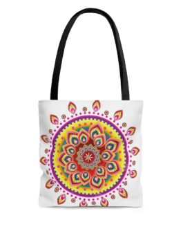 Mandala Golden Magic Tote Bag