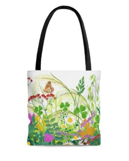 Flowers And Butterflies Sweet, Sweet Tote Bag