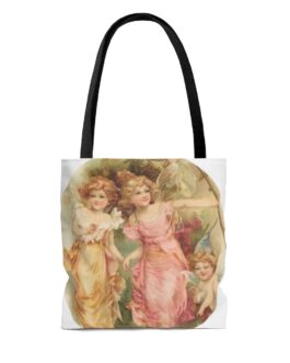 Fairy Girls And Baby Tote Bag
