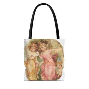 Fairy Girls And Baby Tote Bag on chezgigis.com