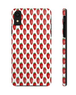 Strawberry Smoothie Phone Case
